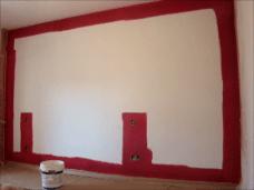 Aplicndo Esmalte pymacril color granate