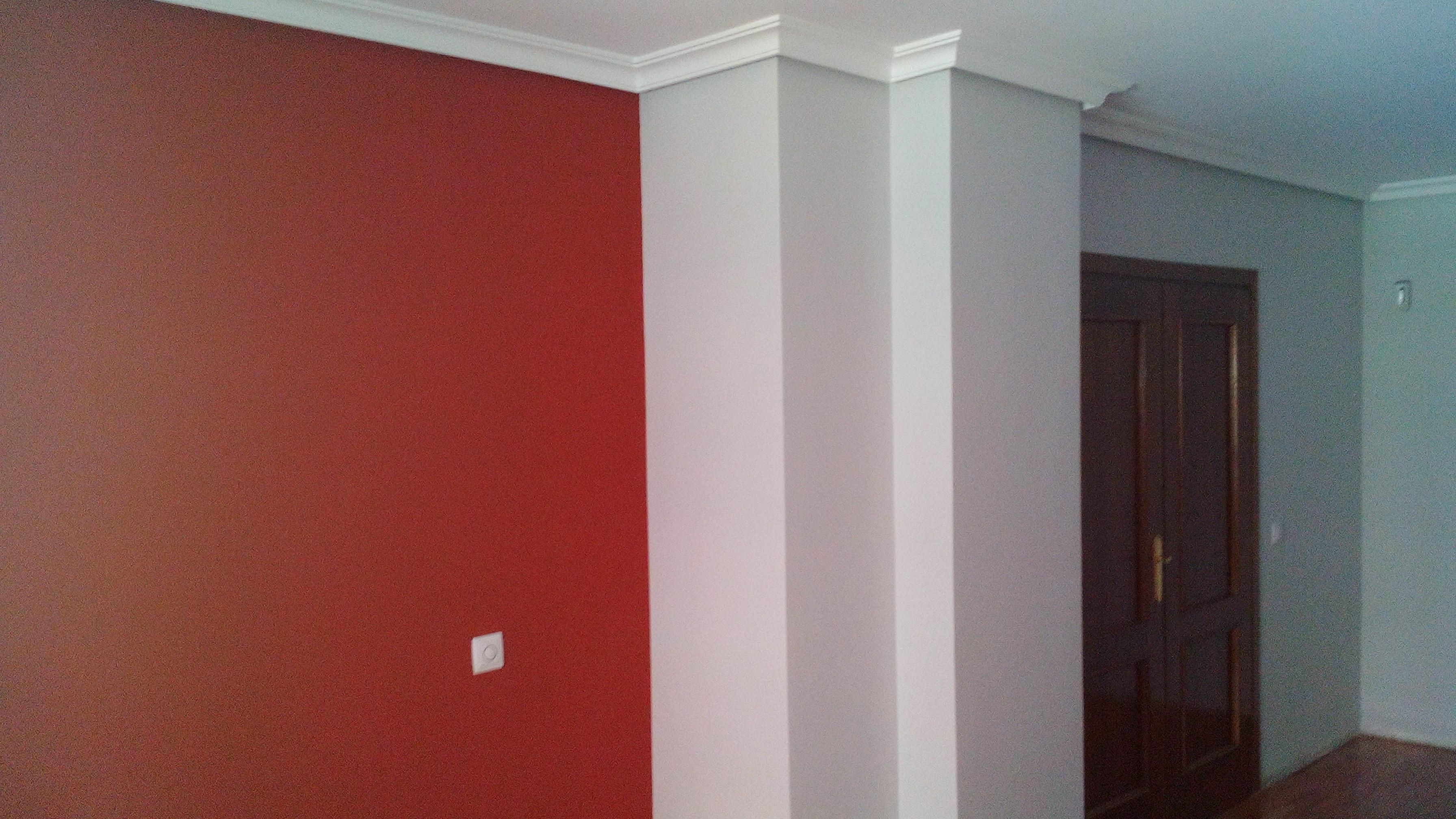Pintura plastica color gris claro y rojo pintores en - Color gris claro ...