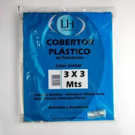 cobertor plastico 3x3 la hacendosa