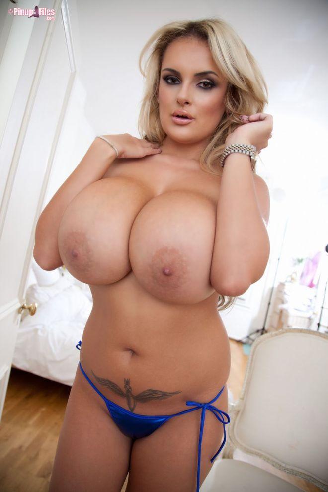 Katie Thornton - Blue Bikini - Set 2