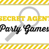 Secret Agent Party Games