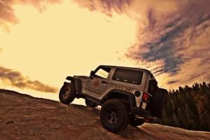 Jeep Sunset