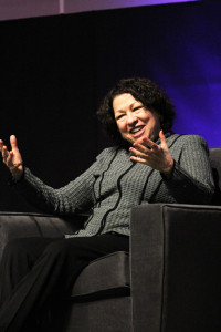Supreme Court Associate Justice Sonia Sotomayor visited campus Wednesday