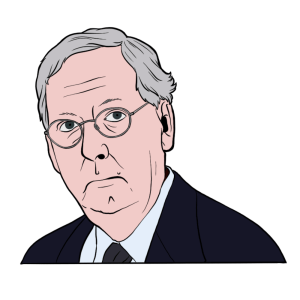 Illustration of Mitch McComell