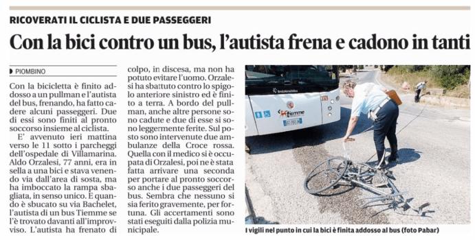 2015.09.03 scontro bici-bus