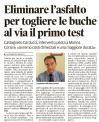 2017.04.11 Asfalto e buche a Marina di Castagneto