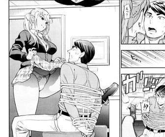 【画像】ヱロ漫画のギャル「センセ~これでも子供だと思うの?(谷間チラ」