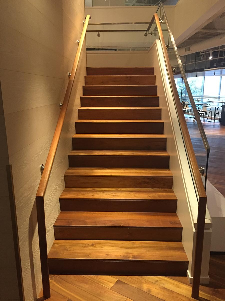 Custom Reclaimed Wooden Stairs And Treads Pioneermillworks | Tread Boards For Stairs | Barn Wood | Unfinished Pine | Stair Parts | Reclaimed Wood | Stair Case