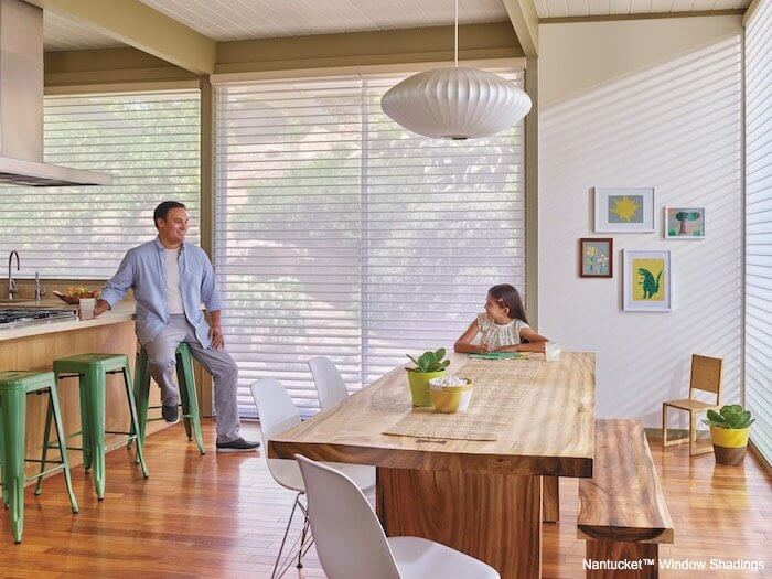 Nantucket Window Shadings - FrontStreet in Kitchen