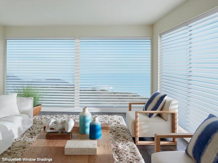 Silhouette Window Shadings - Clearview Originale - Living Room