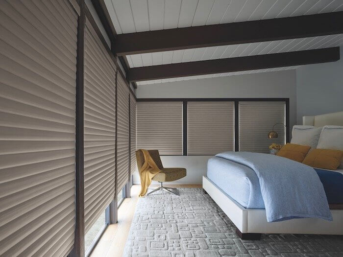 Sonnette PowerView - Elan Heather Taupe - Bedroom