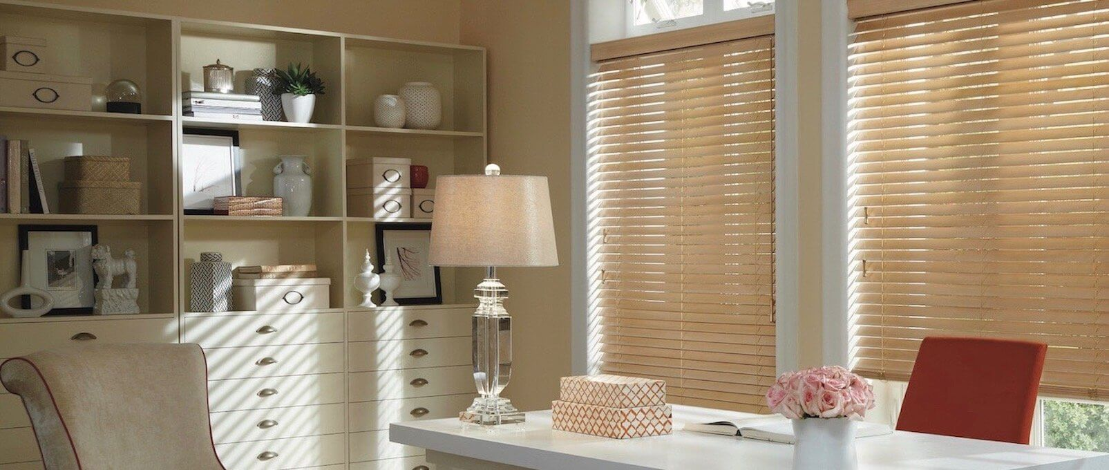 Parkland UltraGlide Shades, Basswood - Office