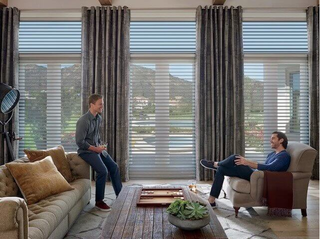 Silhouette UltraGlide ClearView Tapestry - Living Room - Featured Image