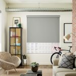 Designer Screen Shades Duo PowerView New Orleans Living Room