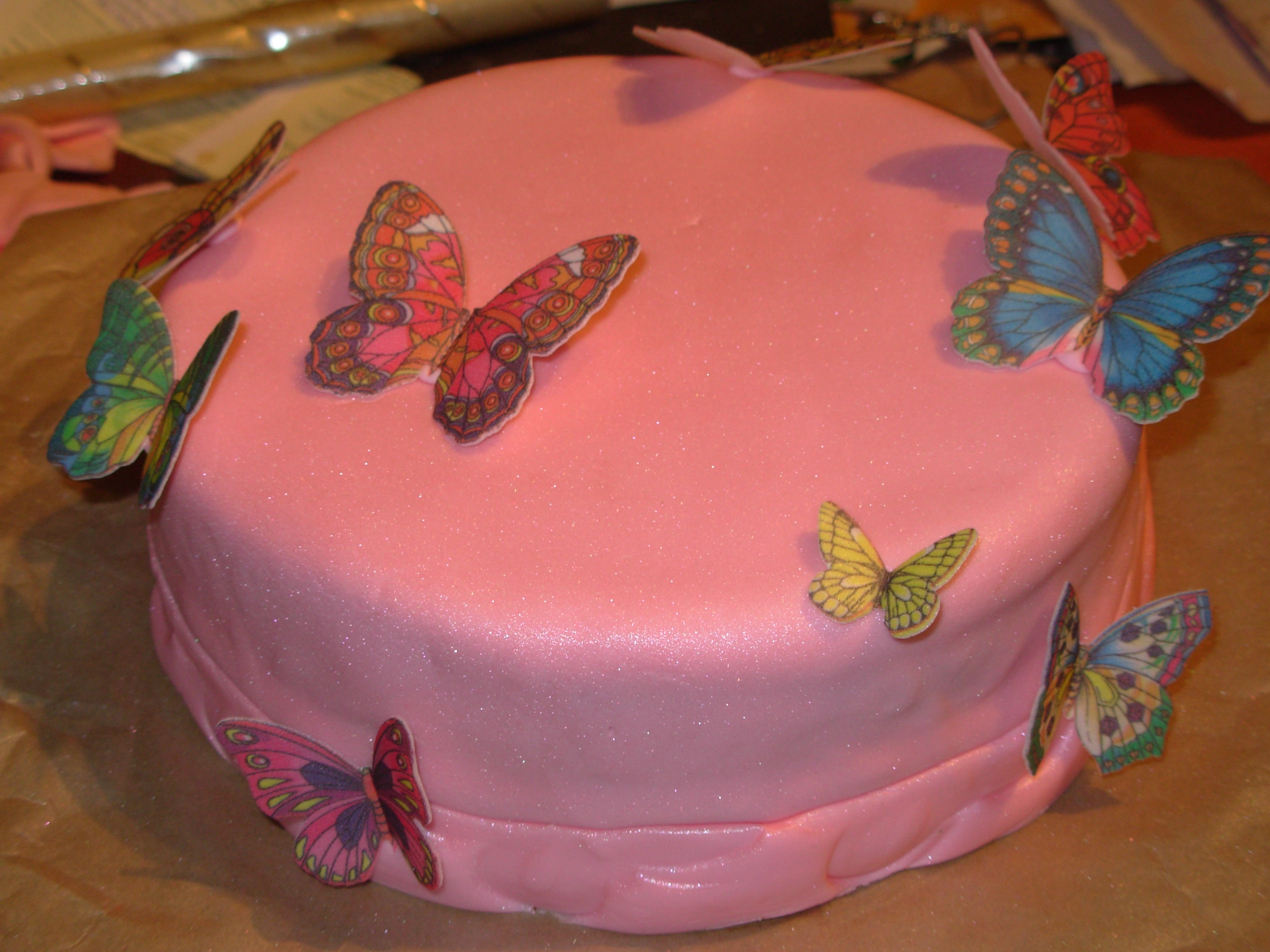Butterfly birthday cakes   P    osa Cake  a bake n  blog Butterfly birthday cakes