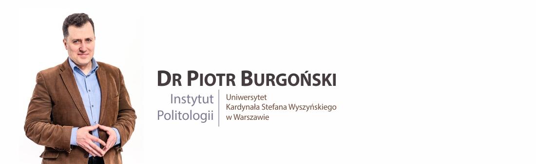 Dr Piotr Burgoński