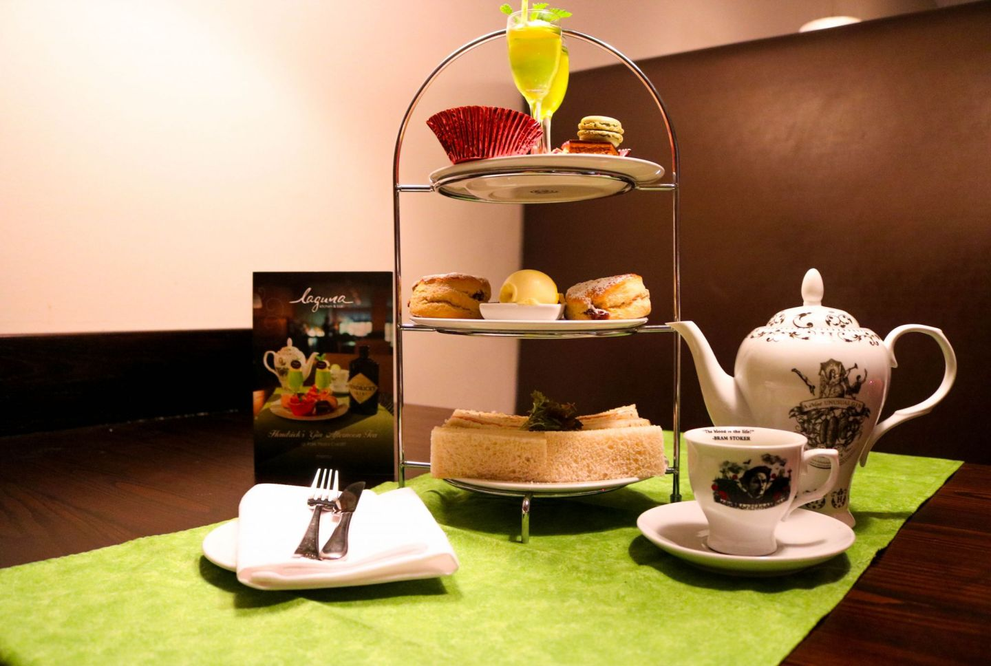 Hendricks Afternoon tea with Park Plaza