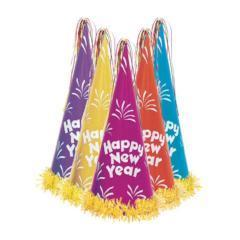gorros altos happy new year