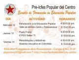 segunda escuela de formación en educación popular febrero 2014