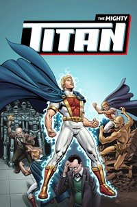 The Mighty Titan #1 (JGM Comics) Cover by Jerry Ordway