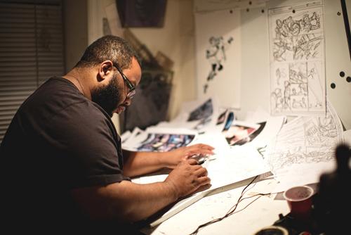 Jamal Igle desk