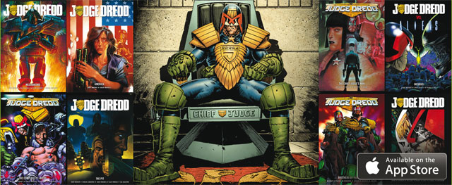 Judge Dredd graphic novels