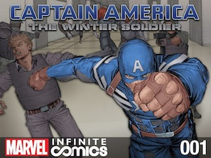 Captain America Winter Soldier Infinite