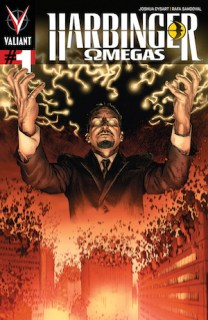 Harbinger Omega #1 cover