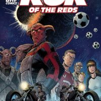 """Most comic readers are heavily into sci-fi and a large proportion of them hate football."" John Wagner on the perils of creating the worlds first alien football comic with Rok of The Reds"