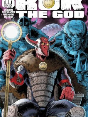 """""""It has taken a lot of effort to convince many that you don't actually have to like football to appreciate it"""" John Wagner talks about aliens vs. footballers in new series Rok the Gods coming soon to Kickstarter!"""