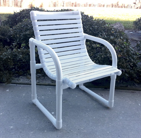 pvc strap furniture for your patio or