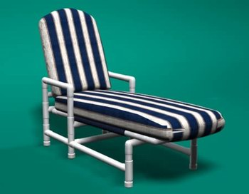 classic style pvc patio furniture with