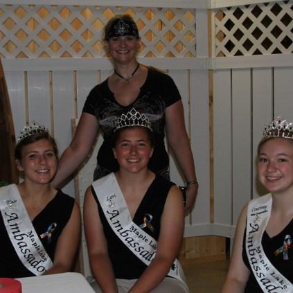 Maple Lake Ambassadors w/ Mayor Lynn Kissock
