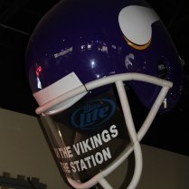 Vikings Hat at The Station Bar and Grill, Monticello MN