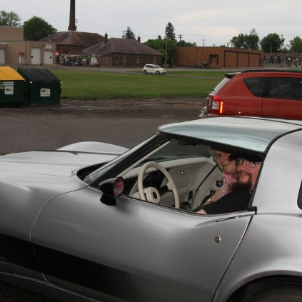 Corvette that joined the 2014 Ride for Autism