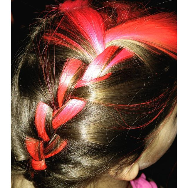 Magenta French Braid #PinkHair #PhotoOfTheDay #FunkyHair