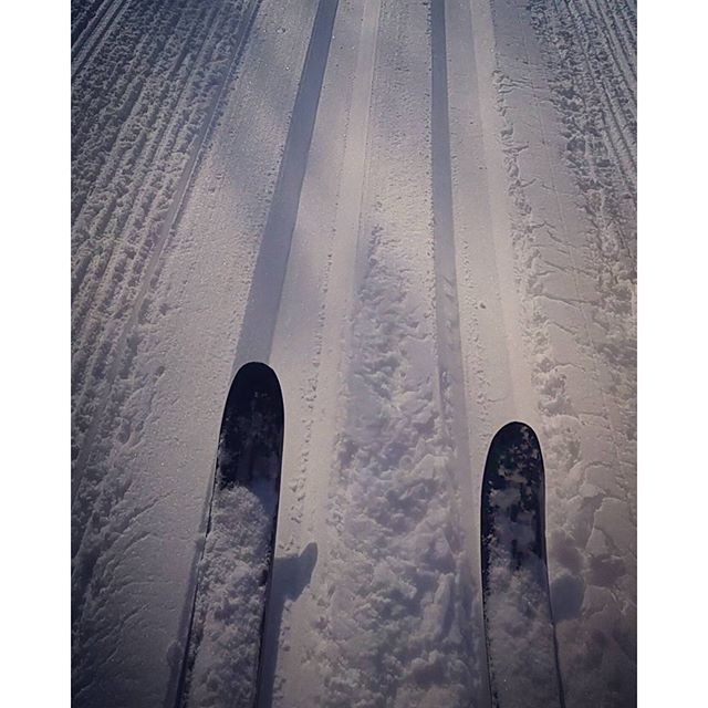 Been waiting ALL WINTER :D #CrossCountry #NeyMemorialPark #Skiiing