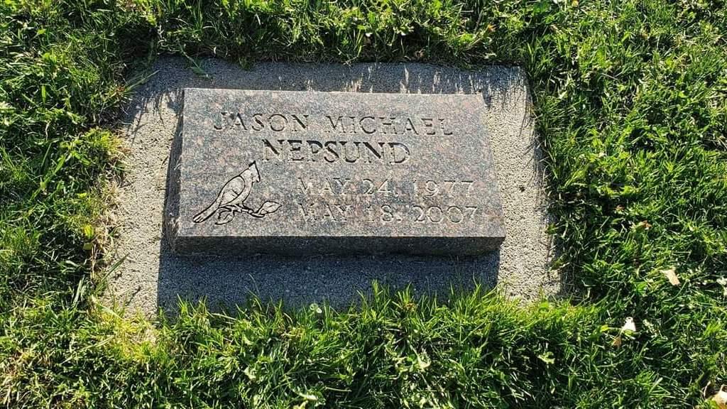 Visiting Jasons Grave