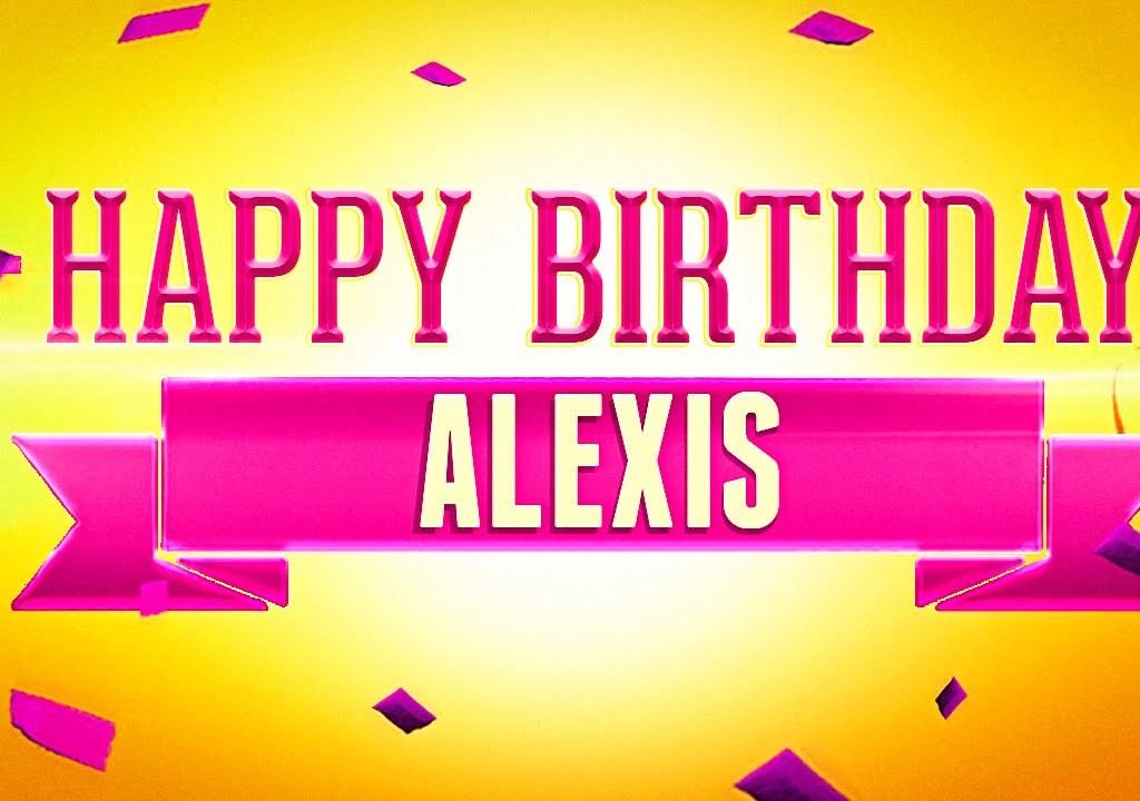 Alexis Turns 19