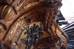 Santa Engrácia organ, photo by João Valério