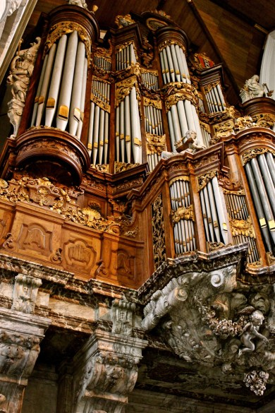 Oude Kerk organ, photo by Ravi Sarma