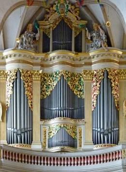 Freiberg organ, photo by Dr. Bernd Gross
