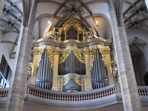 Freiberg organ, photo by Groundhopping Merseburg