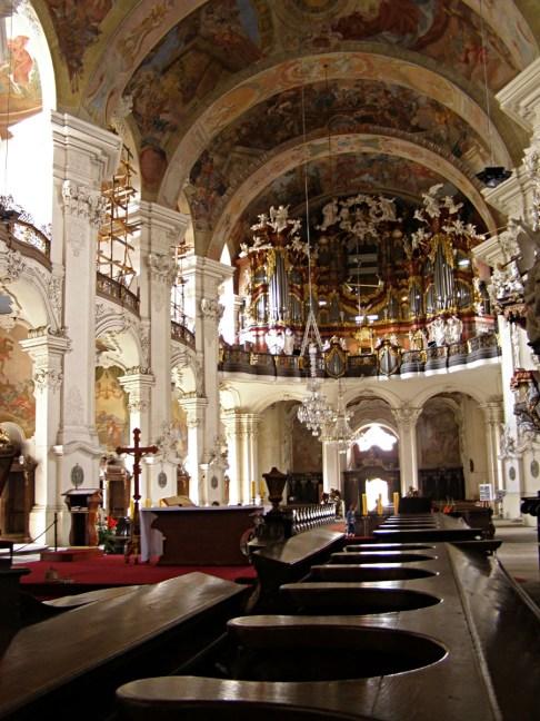 Krzeszow organ, photo by Daniel Baránek