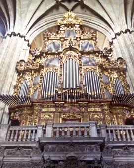 Salamanca organ, photo by Jim Anzalone
