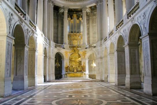 Versailles organ, photo by Brian Jeffery Beggerly