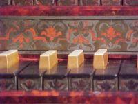 Herzogenburg organ keyboards detail