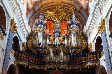 Święta Lipka organ, photo by Ludwig Schneider