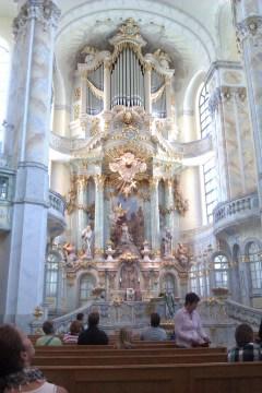 Frauenkirche organ, photo by Aeroplanaki