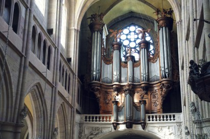 Dijon organ, photo by Georg Asperger